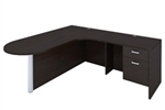Amber L Desk AM-338 by Cherryman
