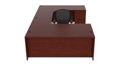 Amber Collection Office Desk AM-353R by Cherryman