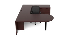 Amber Office Desk AM-364N by Cherryman