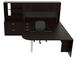AM-369 Modern U Shaped Executive Desk by Cherryman