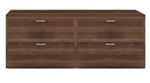 Amber AM-377N 4 Drawer Executive File Cabinet by Cherryman