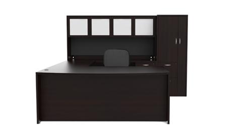 amber executive desk set am389n by cherryman