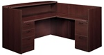 Amber Collection Reception Desk AM-399N by Cherryman