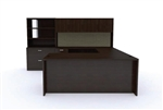 Amber Series Executive U-Desk Set AM-405N by Cherryman