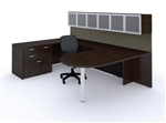 Amber Series U Shaped Wall Desk AM-407N by Cherryman