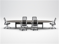 Cherryman Industries Amber 12' Expandable Top Conference Table