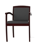Jade Series Mahogany Guest Chair CHAIR-30 by Cherryman