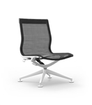Cherryman Industries Mid Back iDesk Curva Lounge Chair CUR124