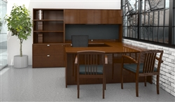 Cherryman Industries Jade Executive Furniture Set JA-155N