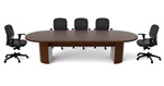 Jade Series 12' Conference Table JA-164N by Cherryman