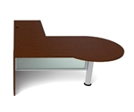 Jade Series JA-170 P Shaped L Desk by Cherryman