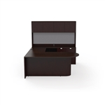 JA-173N Jade Wood Executive Desk Set by Cherryman