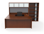 JA-176N Jade Modern U-Desk Set by Cherryman