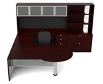 Jade Series JA-177 Executive Office Workstation by Cherryman