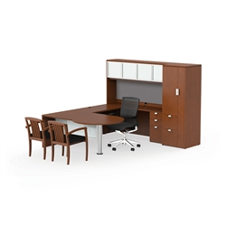 luxury office desk. ja178 jade executive udesk by cherryman luxury office desk