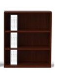 Ruby 3 Shelf Bookcase R828 by Cherryman