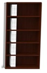 Ruby 5 Shelf Bookcase R829 by Cherryman