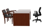 Ruby Series Straight Front Executive Desk RU-202N by Cherryman