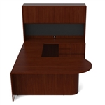 Ruby Collection Office Desk RU-257N by Cherryman
