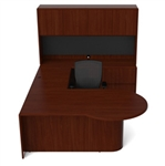 Ruby Collection Modern Office Desk Set RU-258 by Cherryman