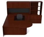 Ruby Series U Shaped Desk Configuration RU-261 by Cherryman