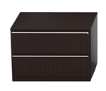 2 Drawer Verde Executive File Cabinet V827L by Cherryman