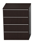 Verde 4 Drawer Contemporary File Cabinet V927L by Cherryman