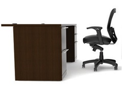 "60"" Verde Double Pedestal Executive Desk VL-605N by Cherryman"