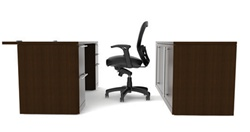 Verde Office Desk VL-606N by Cherryman