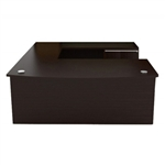 VL-655N Verde Series Bow Front U Desk by Cherryman