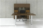 Modern Table Desk Furniture Configuration VL-743N by Cherryman