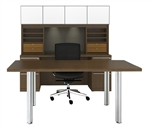Upscale Verde Table Desk Furniture Set by Cherryman