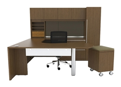 Cherryman VL-747 Verde U Shaped Executive Desk