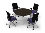 Cherryman Industries Verde Series Round Meeting Table VL-868