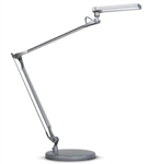 VIVID-LE two Arm LED Desk Lamp by ESI Ergonomic Solutions