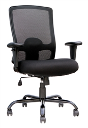 Big and Tall Mesh Back Office Chair BT350 by Eurotech Seating