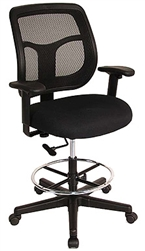 Eurotech Seating DFT9800 Apollo Mesh Drafting Chair