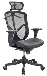 Fuzion Series Modern Office Chair FUZ6B-HI by Eurotech
