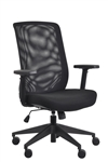 Gene Black Mesh Back Office Chair by Eurotech Seating