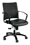 Europa LE222TNM Metallic Series Mid Back Office Chair by Eurotech