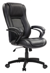 Pembroke LE521 Black Leather Executive Chair by Eurotech