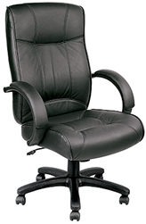 Odyssey Series Black Leather Executive Conference Chair LE9406 by Eurotech