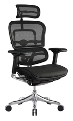 Ergo Elite Series Black Mesh High Back Office Chair ME22ERGLT by Eurotech