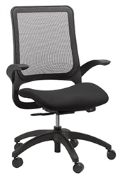 Black Mesh Hawk Series Office Chair by Eurotech Seating