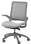 Hawk Series Gray Mesh Back Office Chair by Eurotech Seating