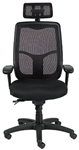 Apollo Office Chair with Headrest by Eurotech Seating