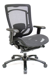 Monterey Series MMSY55 Mesh Back Office Chair with Mesh Seat by Eurotech