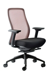 Vera Bittersweet Red Mesh Back Office Chair by Eurotech Seating