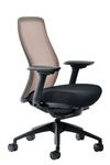 Vera Marigold Orange Mesh Back Office Chair by Eurotech Seating