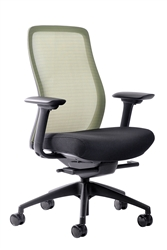 Vera Lime Punch Mesh Back Office Chair by Eurotech Seating